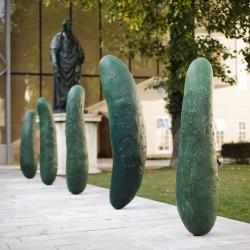 Erwin Wurm, Gurken, 2011, Sammlung Würth © VG Bild-Kunst, Bonn / Foto: Wolfgang Lienbacher