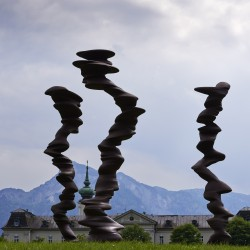 Tony Cragg, Points of View, 2014, © VG Bild-Kunst, Bonn / Foto: Stefan Zenzmaier