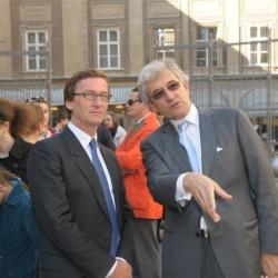 Thaddaeus Ropac und Dr. h.c. Walter Smerling