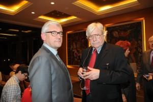 Prof.Walter Smerling (Künstlerischer Leiter) und Prof. Bazon Brock