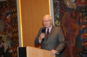 Grußwort von Wulf Matthias (Vizepräsident Salzburg Foundation)