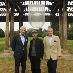 Walter Smerling, Zhang Huan, Karl Gollegger (v.l.) / Foto: Manfred Siebinger