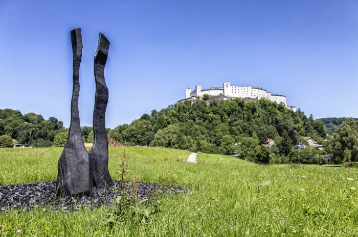 David Nash, King and Queen / Foto: Andreas Kolarik