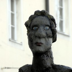 Mozart - eine Hommage, Detail des Kopfes