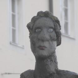Markus Lüpertz, Mozart – eine Hommage, 2005, Sammlung Würth © VG Bild-Kunst, Bonn / Foto: Manfred Siebinger