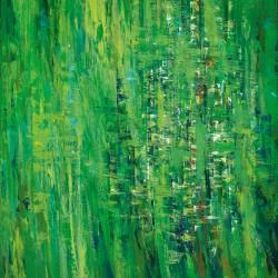 Emerald Spirit (2013) / Courtesy of Susan Swartz Studio