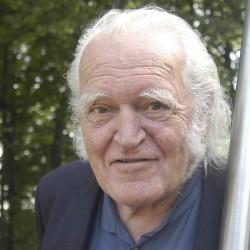 Mario Merz in Salzburg, 2003, Foto: Salzburg Foundation