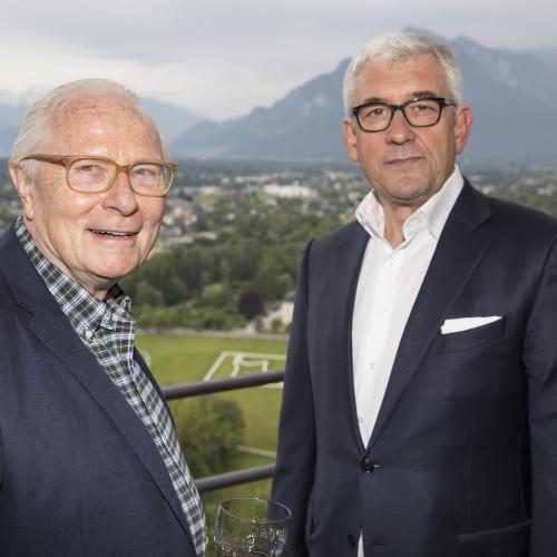 Matthias Wulf und Walter Smerling, Foto: A.Kolarik