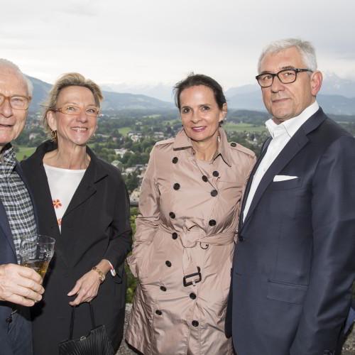 Matthias Wulf, Dr. Ulrike Godler, Constanze Krieger und Walter Smerling, Foto: A.Kolarik