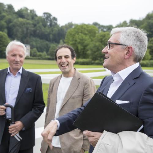 Karl Gollegger, Paul Wallach, Walter Smerling / Foto: A.Kolarik