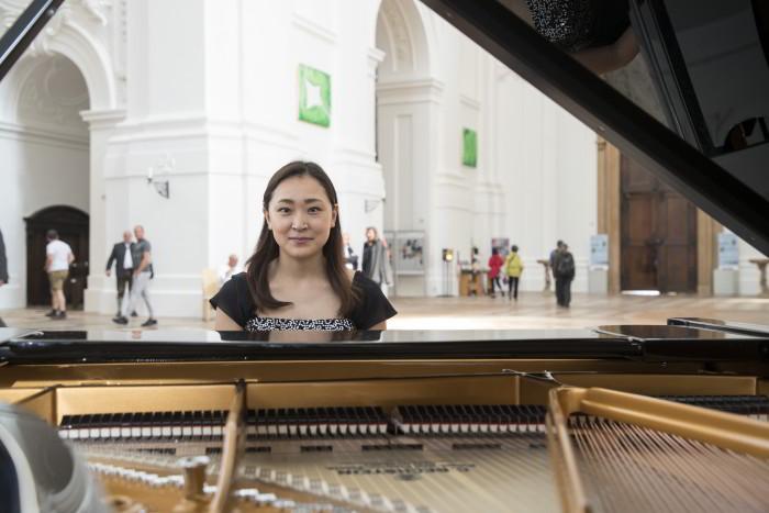 Pianistin Sayoko Sugino, Kollegienkirche / Foto: A.Kolarik
