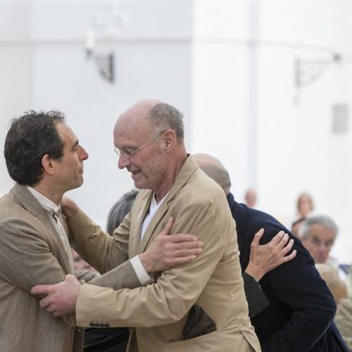 Paul Wallach und Anselm Kiefer / Foto: A.Kolarik