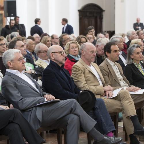 Walter Smerling, José Alvarez, Anselm Kiefer, Paul Wallach u. seine Frau Waltraud Forelli / Foto: A.Kolarik