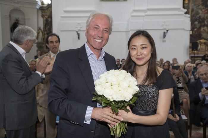 DDr. Karl Gollegger und Sayoko Sugino, Foto: A.Kolarik