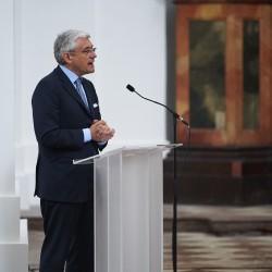 Prof. Dr. h.c. Walter Smerling, Künstlerischer Leiter der Salzburg Foundation.