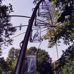 Mario Merz, Ziffern im Wald, 2003, Sammlung Würth © VG Bild-Kunst, Bonn / Foto: Salzburg Foundation