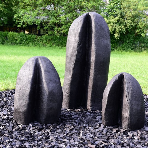 David Nash, Three Humps / Foto: Manfred Siebinger