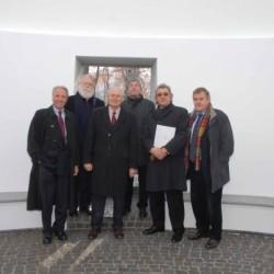 v.l.n.r.: DDr. Karl Gollegger, James Turrell, Wulf Matthias, Dr. Heinz Schaden, Walter Smerling, Prof. Peter Iden